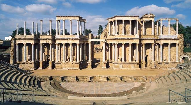 Teatro-romano-Mérida