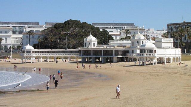 Playa La Caleta-Cádiz