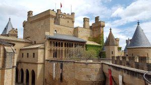 Ruta por Navarra, castillo de Olite